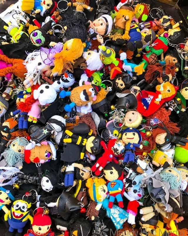 Handmade key rings – superheroes, toys, anything you can think of…