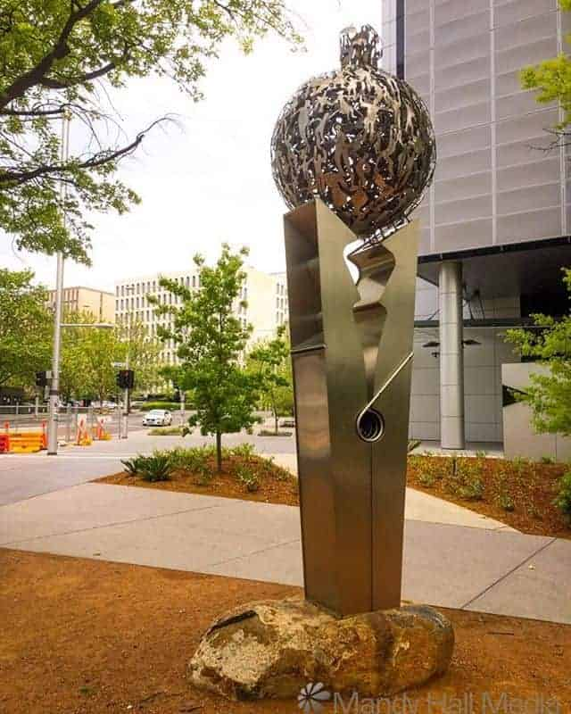 Cuban Memorial sculpture in Canberra