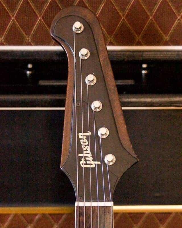 1963 Gibson Firebird headstock