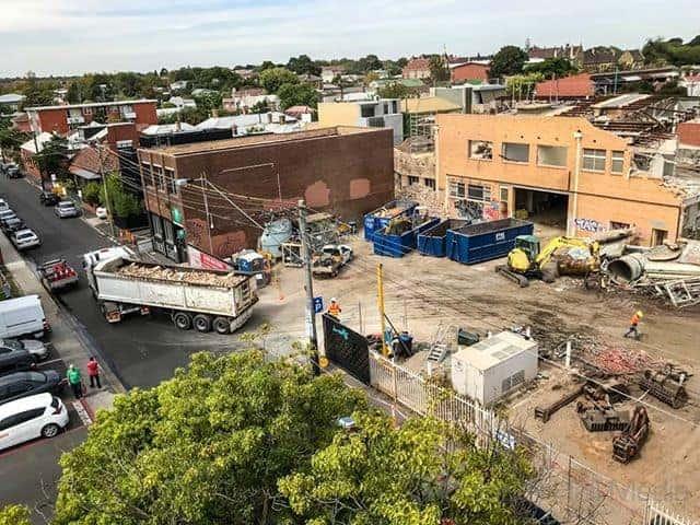 Construction or destruction?