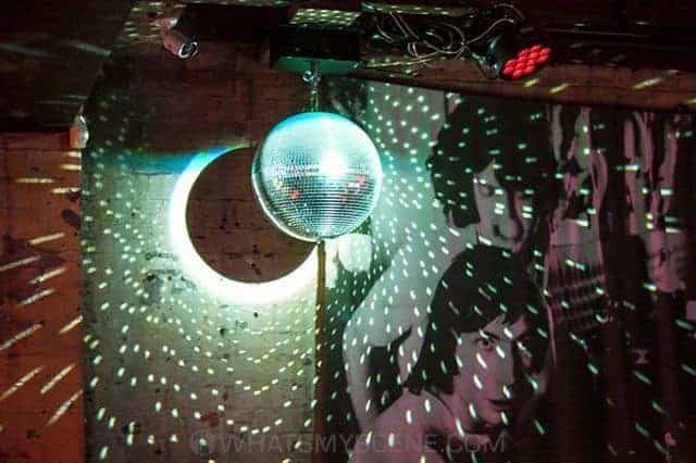 Mirrorball at Cherry bar Melbourne