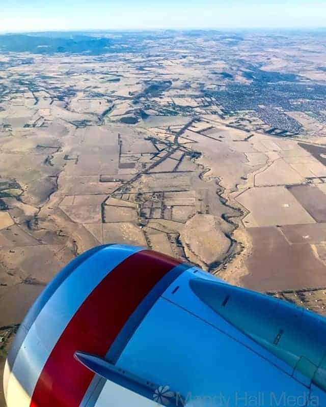 Country Victoria is looking a little dry