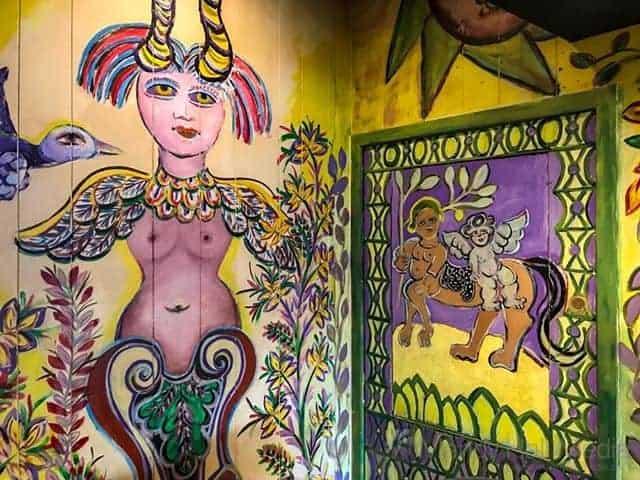 Restore Mirka Mora mural in Tolarno's restaurant in St Kilda