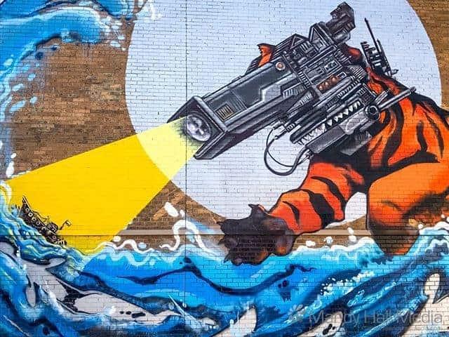 Mural in St Kilda