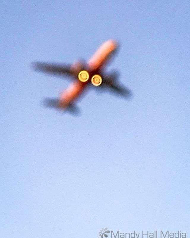 Blurry plane