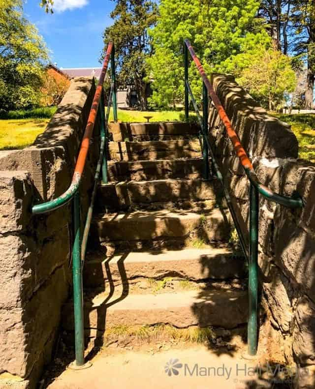 Stairs to no-where in Kyneton