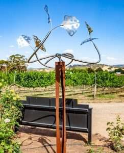 Rudi Jass ' Ginkgo Tree ' at Art in the Vines at Hanging Rock Winery