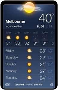Bit warm today