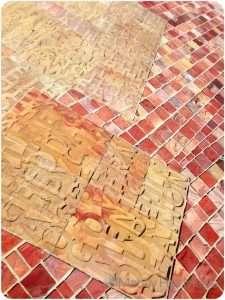 Bricks at Federation Square, Melbourne