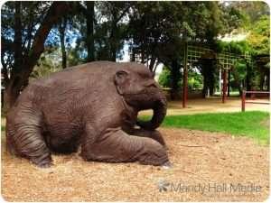 Banks Park, Sydney. Another elephant
