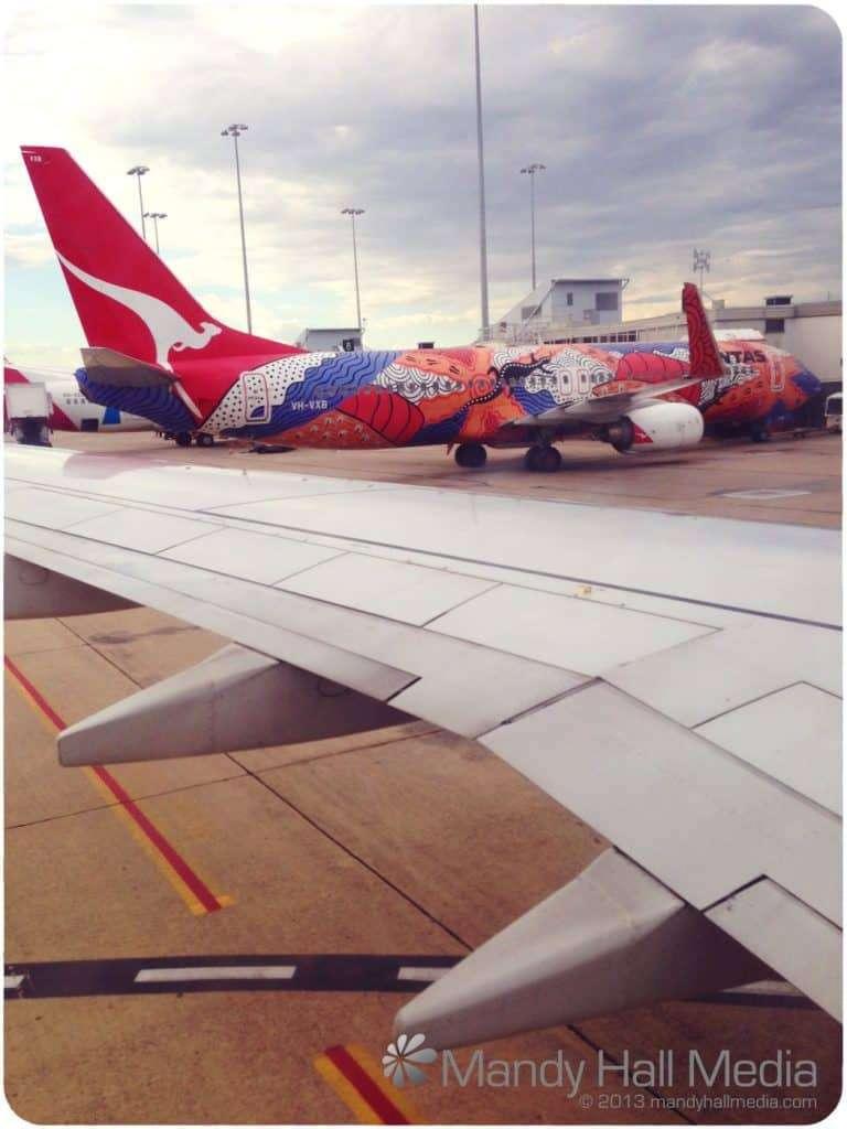 Cool Qantas plane