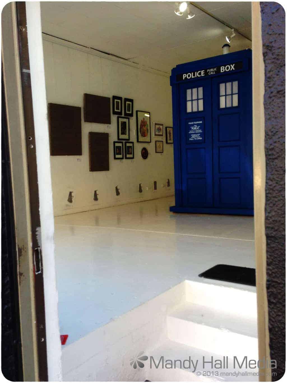 Doctor Who exhibition at Art Boy gallery in Prahran