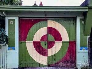 Garage door in St Kilda