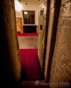 Looking out from a cell in the old Bendigo Gaol⠀