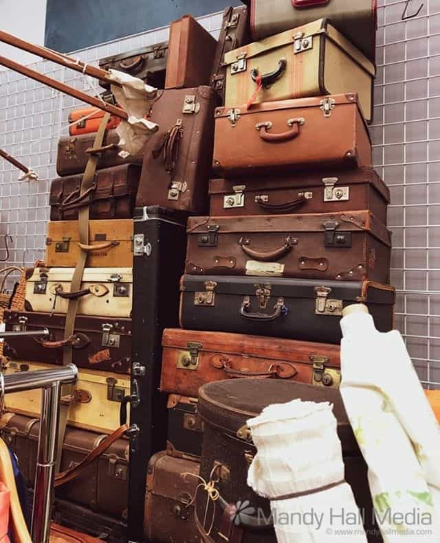 Fabulous old suitcases⁠⠀