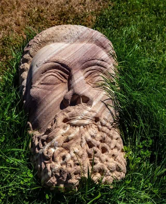 Zeus looking Eastward by Adrian Spurr at Art in the Vines at Hanging Rock Winery