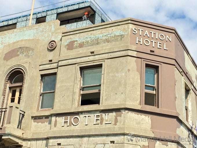 The old Station Hotel in Prahran