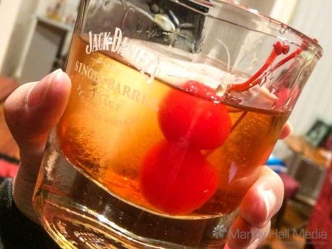Bourbon & cherries