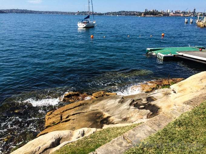Beautiful day on Sydney Harbour