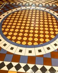 Tiled floor in a mall in Adelaide