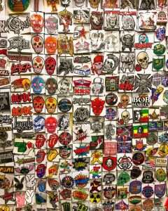 The badge wall
