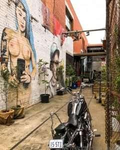 Laneway cafe in Carlton