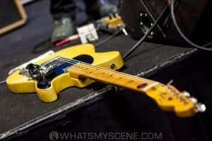 50s Telecaster waiting for the gig at Caravan Music