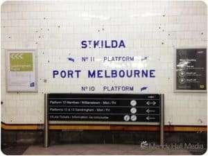 Under Flinders Street Station