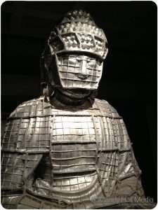 Buddha at Mona in Tasmania made of the ashes of burnt incense. It's almost a story high. It's lovely.