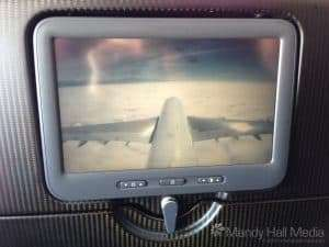 Tail cam on the plane