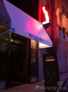 The Redwood bar in LA. Good food.