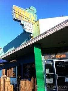 The Pike Bar in Long Beach, California.