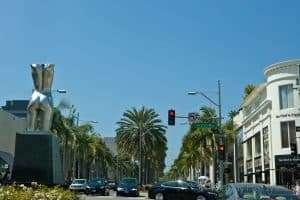 Sights around Hollywood