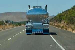 Very shiny truck