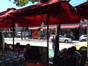 Lunch on Chapel st, South Yarra