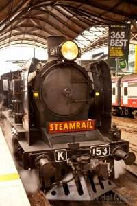 Steam train from Southern Cross, Melbourne to Geelong