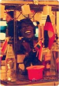 James Brown supports Aboriginal rights as well as gay rights behind the bar at Petersham Bowling Club.