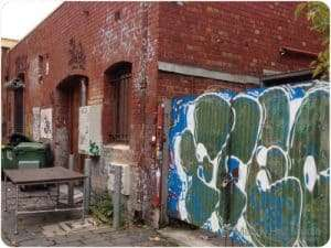 Some of the backstreets of Melbourne are so interesting