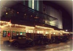 People arrived in style to see The Great Gatsby at The Ritz