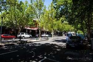 Lygon Street in the afternoon