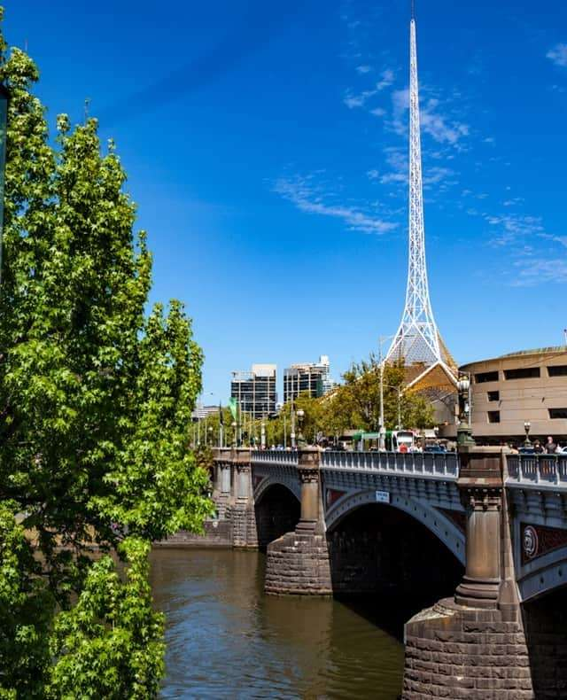 Sunny Melbourne afternoon