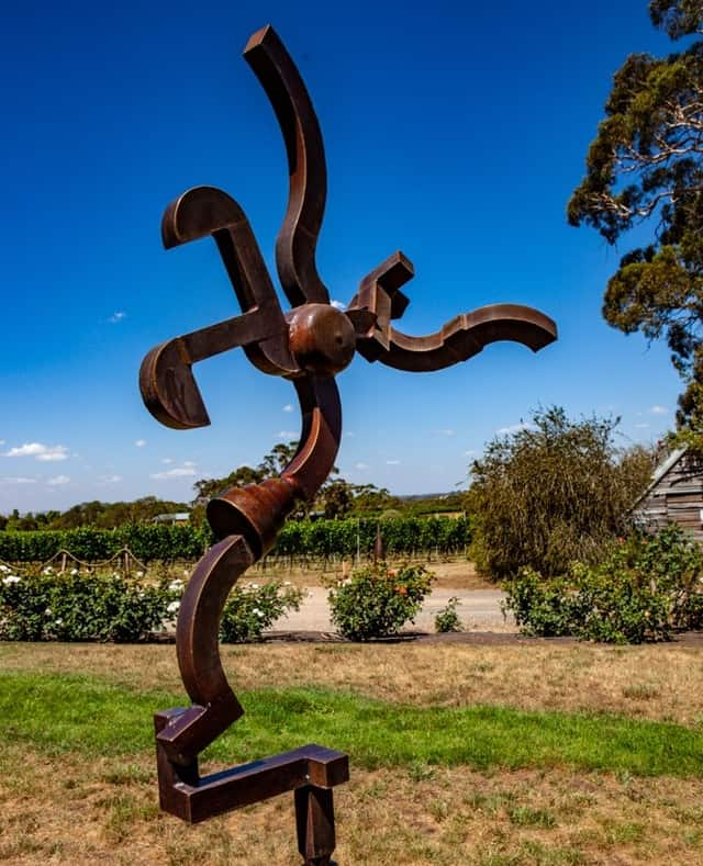 Jock Clutterbuck ' Wiswas Emblem ' at Art in the Vines at Hanging Rock Winery