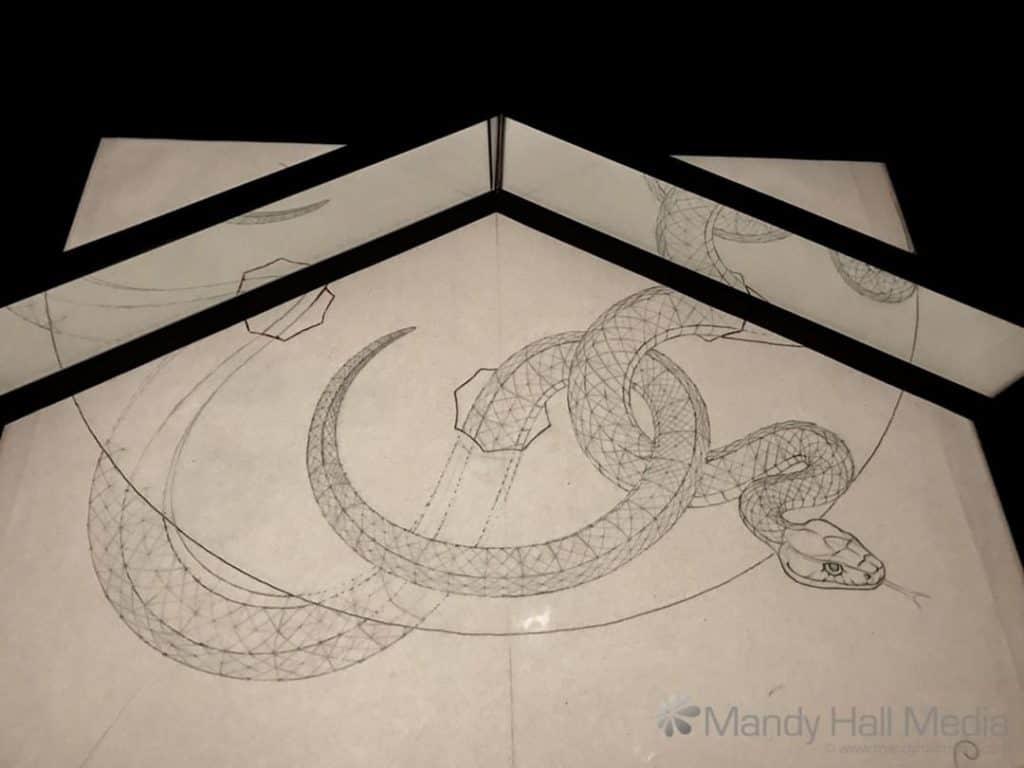 Escher snake