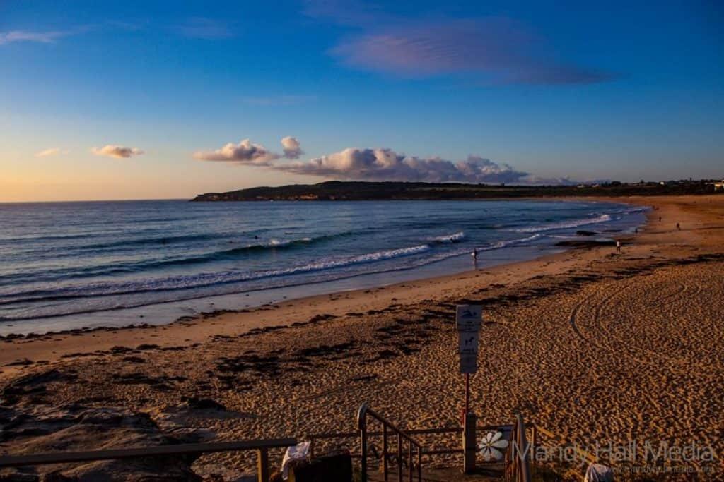 Sunrise over Maroubra Beach