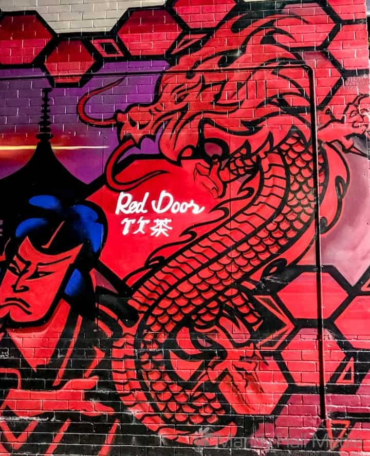 Red Door dragon
