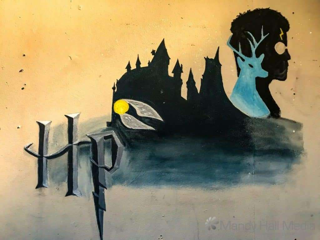Harry Potter mural