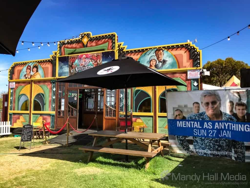 The Spiegeltent in Barwon Heads