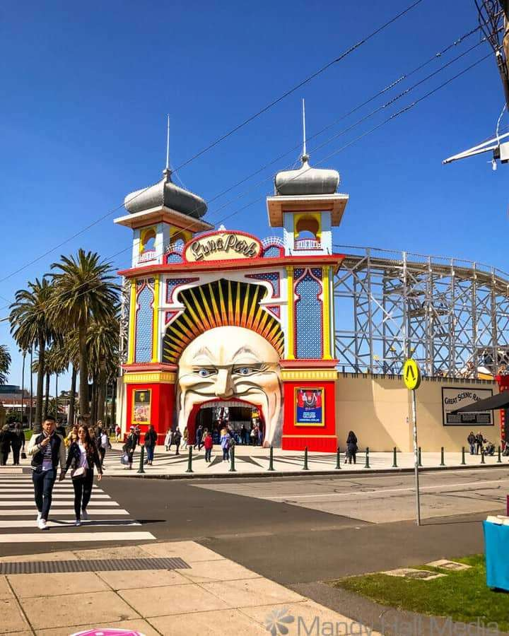 Luna Park before social distancing