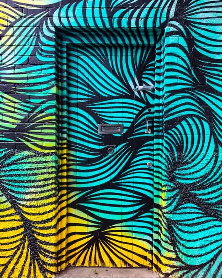 Swirly door
