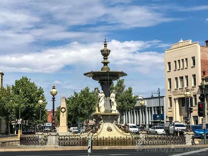 Alexandria Fountain in Bendigo